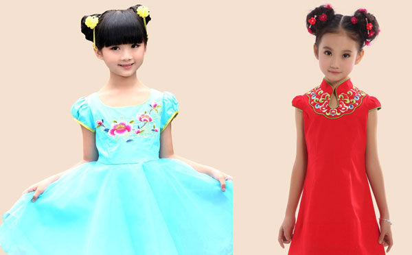 中式童装加盟店